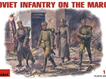 MiniArt 35002 SOVIET INFANTRY ON THE MARCH, 1/35