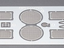 Tamiya 35172 Panther Type G Photo-Etched Grille Set, 1/35
