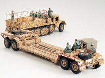 Tamiya 35246 German 18ton Heavy Half-Track Famo and Tank Transporter Sd.Ah.116, 1/35