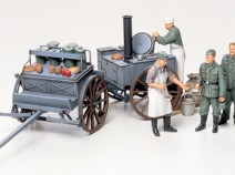 Tamiya 35247 German Field Kitchen Scenery, 1/35