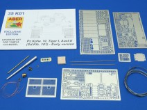 Aber 35 K01 [EXCLUSIVE EDITION] Pz.kpfw. VI, Tiger I, Ausf.E (Sd.Kfz.181) - Early version