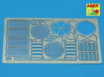Aber 35 G14 Grilles for Sd.Kfz.171 Panther, Ausf.G late model
