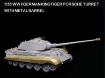 Lion Roar LAS35014 WWII German KingTiger(Porsche version) for DML