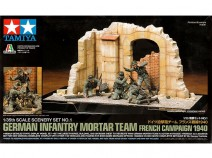 Tamiya 89739 Ger Mortar Team French Campaign 1940, 1/35