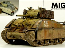 MIG MP 35-373 Pacific Sherman Field Armor Upgrade 1/35