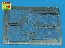 ABER 35 G13 Grilles for Sd.Kfz.182 King Tiger (Henshel Turret) 1/35