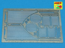 ABER 35 G12 Grilles for Sd.Kfz.182 King Tiger (Porshe Turret) 1/35
