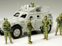 Tamiya 35276 JGSDF Iraq Humanitarian Assistance Team, 1/35