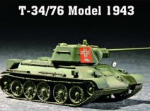 Trumpeter 07208 T-34/76 Model 1943 1/72
