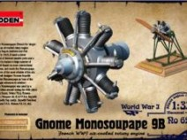 RODEN 621 Gnome Monosoupape 9B engine 1/32