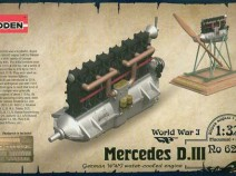 Roden 623 Mercedes D.III engine 1/32