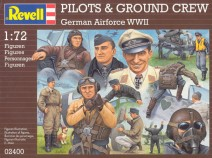 Revell 02400 Pilots and Ground Staff - LUFTWAFFE WWII 1:72 user reviews