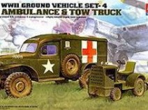 Academy 13403 U.S. AMBULANCE & TOWING TRACTOR 1/72