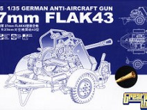 Great Wall Hobby L3505 German Anti-aircraft Gun 37mm Flak43, 1/35