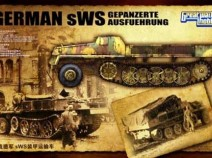 Great Wall Hobby L3520 WWII German sWS Gepanzerte Ausfuehrung, 1/35