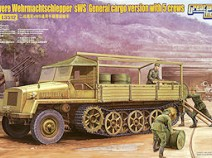 Great Wall Hobby L3512 WWII German sWS General Cargo Version/w 5 crews, 1/35