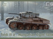 IBG 72029 Toldi IIa Hungarian light Tank