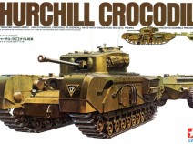 Tamiya 35100 British Churchill Crocodile Flamethrower tank