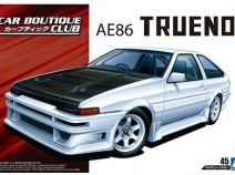 Aoshima 05512 Toyota Trueno AE86 Car Boutique Club