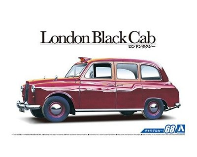 Aoshima 05487 FX-4 London Black Cab '68