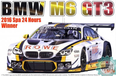 Beemax PN24001 BMW M6 GT3 2016 SPA 24 hours Winner in full kit