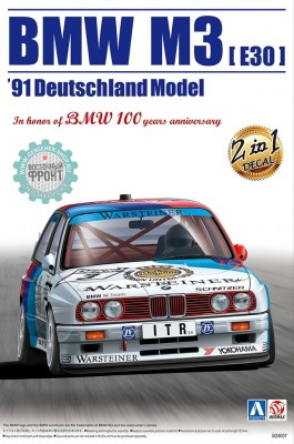 Beemax 24007 BMW M3 E30 1991 Deutschland Year Champion