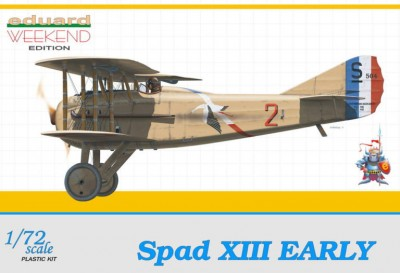 Eduard 7411 SPAD XIII early