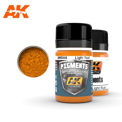 AK-Interactive AK-044 LIGHT RUST PIGMENT