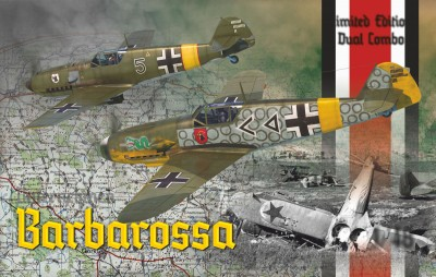 Eduard 11127  Barbarossa Bf 109E-4/7 + Bf 109F-2 on the Eastern front (в наборе ДВЕ модели)