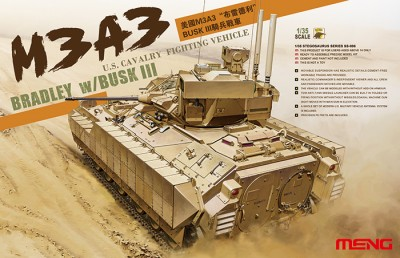 MENG SS-006 M3A3 Bradley with BUSK III