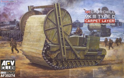 AFV Club AF35274 1/35 Churchill   Carpet  Layer (Type D)  Mark III