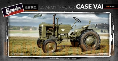 Thunder Models TM35001 1/35 US Army tractor Case VAI
