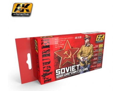 AK-Interactive AK-3120 SOVIET WWII UNIFORM COLORS