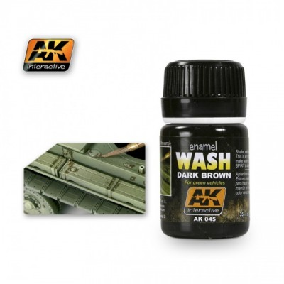 AK-Interactive AK-045 WASH FOR GREEN VEHICLES