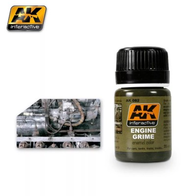 AK-Interactive AK-082 ENGINE GRIME