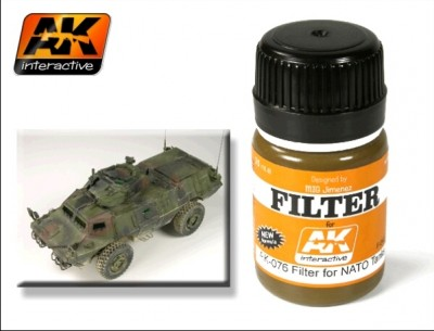 AK-Interactive AK-076 FILTER FOR NATO VEHICLES