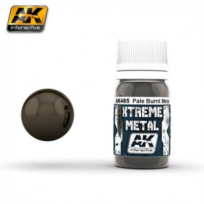 AK-Interactive AK-485 XTERME METAL PALE BURNT METAL