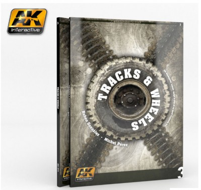 AK-Interactive AK-274 КНИГА TRACKS & WHEELS (AK LEARNING SERIES Nº3)