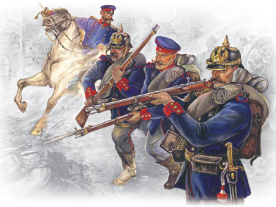 ICM 35012 Prussian Line Infantry (1870-1871), 1/35