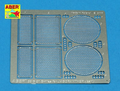 Aber 35 G21 Grilles for Jagdpanther Ausf.G1 early