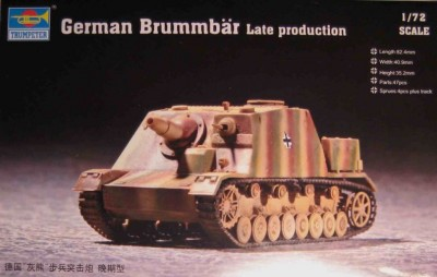 Trumpeter 07212 Brummbar Late Production 1/72