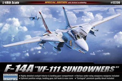 Academy 12230 F-14A [VF-111 SUNDOWNERS], 1/48