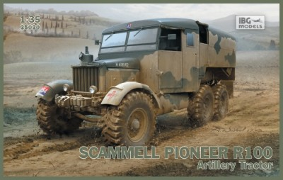 IBG 35030 SCAMMELL PIONEER R100 Artillery tractor
