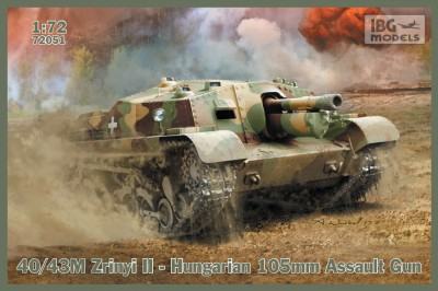 IBG 72051 40/43M Zrinyi II Hungarian 105mm Assault Gun