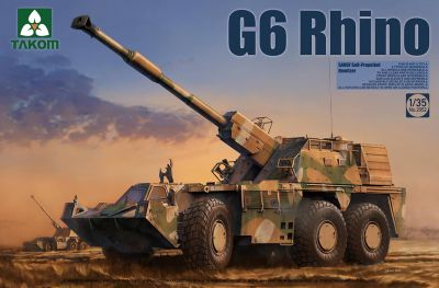 Takom 2052 1/35 SANDF Self-Propelled Howitzer G6 Rhino