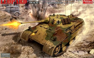 Amusing Hobby 35A004 1/35 German Heavy Armored Reconaissance Tank LEOPARD VK1602