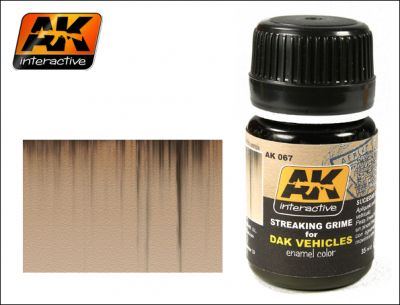 AK-Interactive AK-067 STREAKING GRIME FOR AFRIKA KORPS VEHICLES