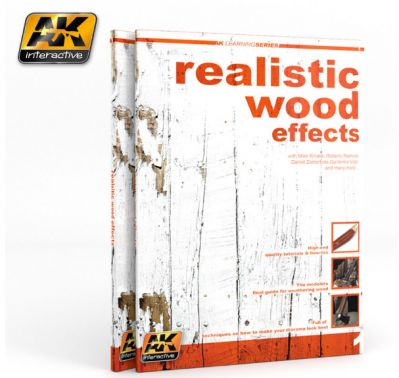 AK-Interactive AK-259 КНИГА REALISTIC WOOD EFFECTS IMPROVED ED. (AK LEARNING SERIES Nº1)