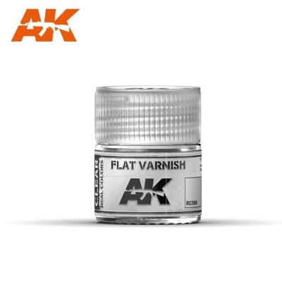 AK-Interactive RC-500 FLAT VARNISH (МАТОВЫЙ ЛАК)